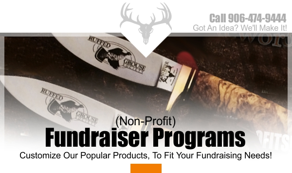 Knives for Fundraising | Rapid River Knifeworks