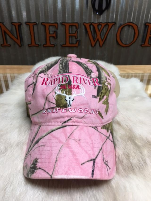 beed29663 RRK HAT - Light Pink Realtree APC Camo Embroidered Low Profile ...