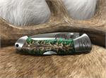 Yooper Pocket Clip with Pinecone Handle Pocket Knife