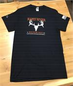 Rapid River Knifeworks T-Shirt with Damascus Knives